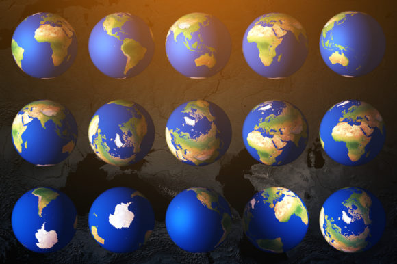 3D Earth Render Without Clouds Graphic Objects By Shemul - Image 3