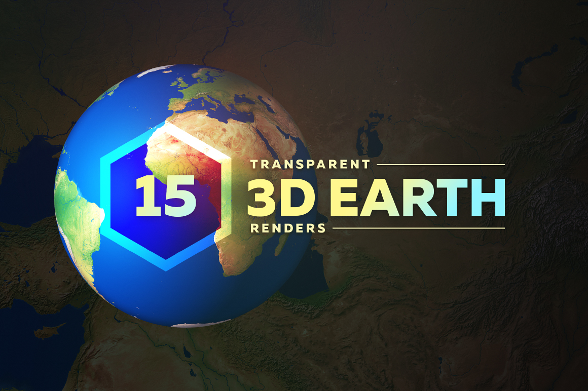 Download Free 3d Earth Render Without Clouds Graphic By Shemul Creative Fabrica for Cricut Explore, Silhouette and other cutting machines.