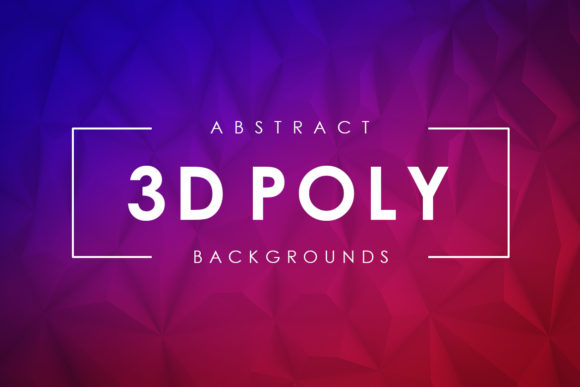 Download Free 3d Poly Backgrounds Graphic By Artistmef Creative Fabrica for Cricut Explore, Silhouette and other cutting machines.