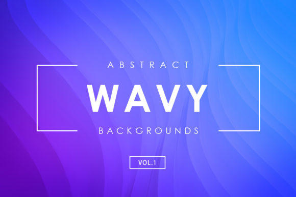 Print on Demand: 3D Wavy Backgrounds 1 Graphic Backgrounds By ArtistMef