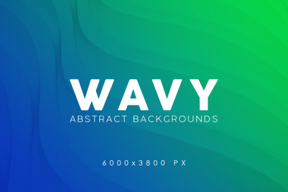 Print on Demand: 3D Wavy Backgrounds 2 Graphic Backgrounds By ArtistMef