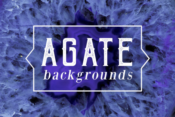 Print on Demand: 40 Agate Backgrounds Graphic Backgrounds By freezerondigital