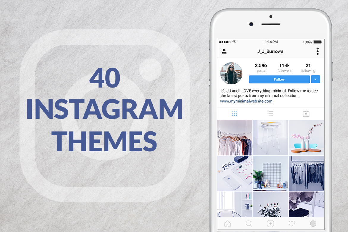 Download Free 40 Instagram Themes Graphic By Web Donut Creative Fabrica for Cricut Explore, Silhouette and other cutting machines.