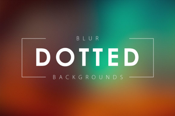 50 Dotted Blur Backgrounds Graphic By ArtistMef