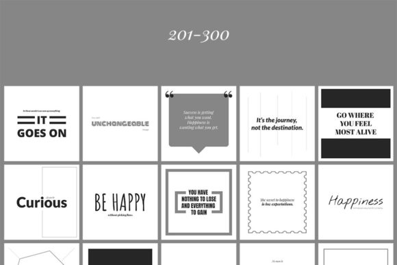 500 Social Media Quotes Graphic Web Elements By Web Donut - Image 9