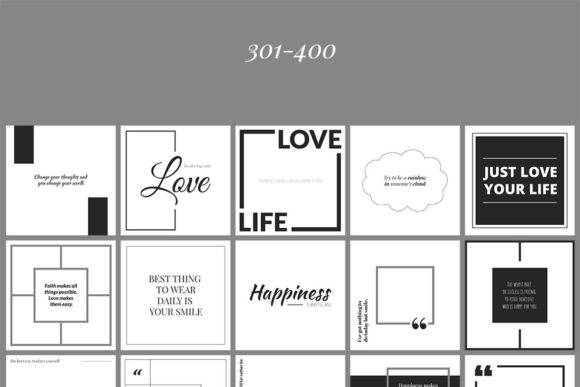 500 Social Media Quotes Graphic Web Elements By Web Donut - Image 10