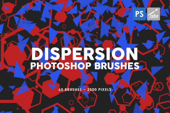 Download Free 60 Dispersion Photoshop Stamp Brushes Graphic By Artistmef for Cricut Explore, Silhouette and other cutting machines.