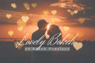 60 Lovely Bokeh Lights Effect Overlay Graphic By 3Motional