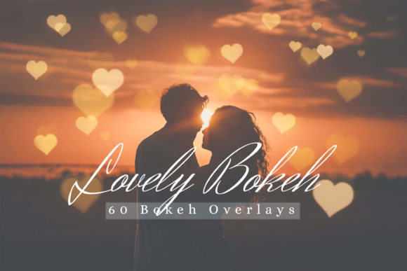 Download Free 60 Lovely Bokeh Lights Effect Overlay Graphic By 3motional SVG Cut Files
