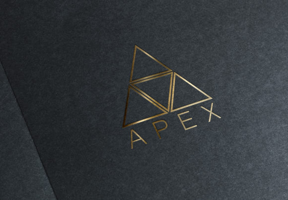 Print on Demand: APEX Logo Template Graphic Logos By denestudios