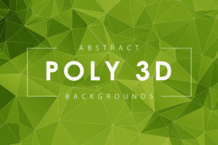 Abstract 3D Polygon Backgrounds Graphic By ArtistMef
