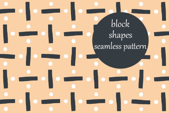Download Free Abstract Divide Block Shapes Pattern Graphic By Brightgrayart for Cricut Explore, Silhouette and other cutting machines.