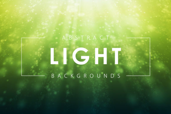 Print on Demand: Abstract Light Backgrounds Graphic Backgrounds By ArtistMef