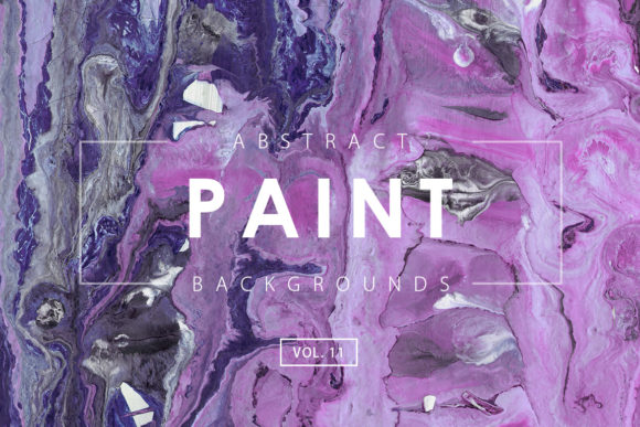 Print on Demand: Abstract Paint Backgrounds 11 Graphic Backgrounds By ArtistMef