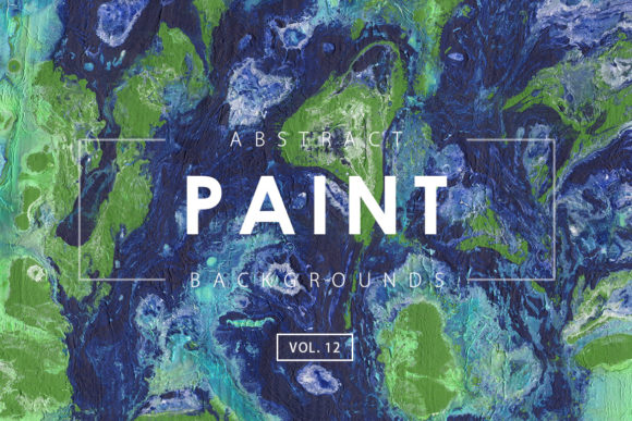 Print on Demand: Abstract Paint Backgrounds 12 Graphic Backgrounds By ArtistMef