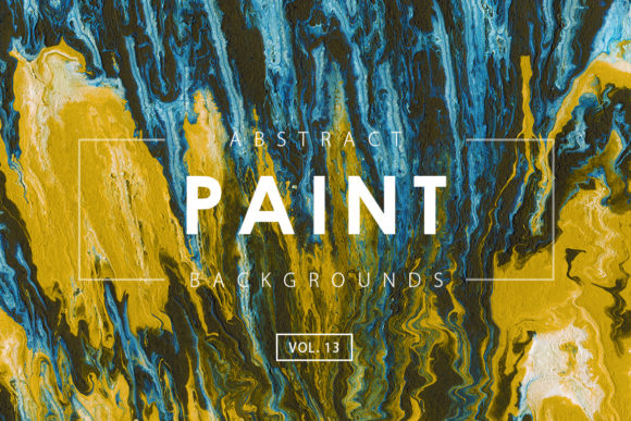 Print on Demand: Abstract Paint Backgrounds 13 Gráfico Fondos Por ArtistMef