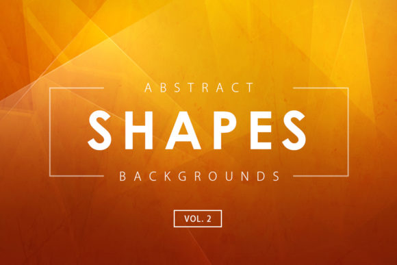 Print on Demand: Abstract Shapes Backgrounds 2 Graphic Backgrounds By ArtistMef