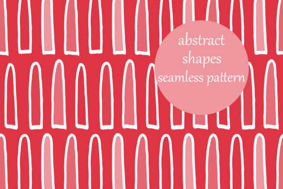 Download Free Abstract Shapes Doodle Pattern Graphic By Brightgrayart for Cricut Explore, Silhouette and other cutting machines.
