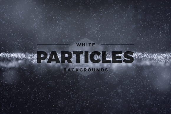 Abstract White Particles Background Graphic Backgrounds By Shemul