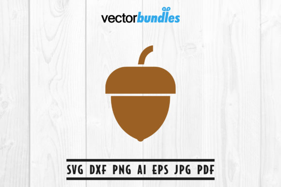 Download Free Acorn Clip Art Svg Graphic By Vectorbundles Creative Fabrica for Cricut Explore, Silhouette and other cutting machines.
