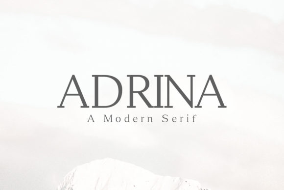 Print on Demand: Adrina Serif Font By Creative Tacos