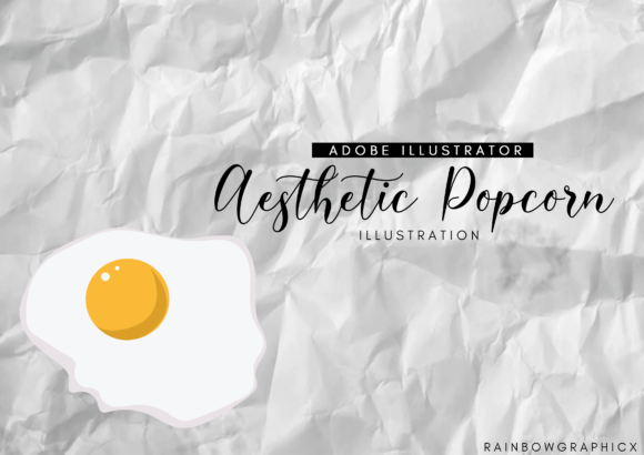 Print on Demand: Aesthetic Egg Graphic Illustrations By RainbowGraphicx