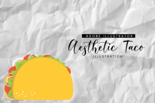 Aesthetic Taco Graphic By RainbowGraphicx