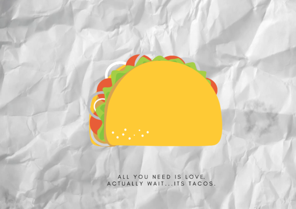 Print on Demand: Aesthetic Taco Graphic Illustrations By RainbowGraphicx  - Image 2