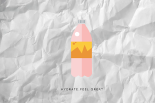 Aesthetic Bottle Graphic By RainbowGraphicx