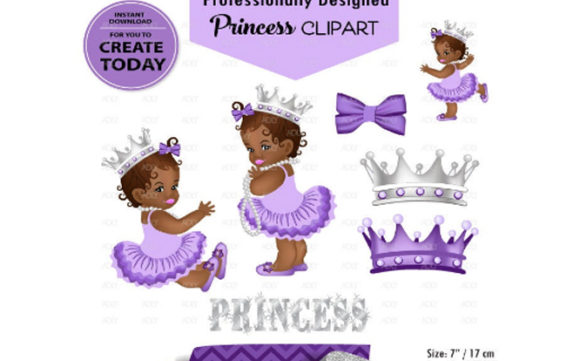Download Free African American Babygirl Clipart Purple Grafico Por Adlydigital for Cricut Explore, Silhouette and other cutting machines.