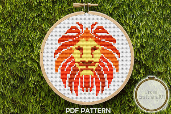 Download Free Abstract Woman Cross Stitch Pattern Graphic By Crossstitching101 for Cricut Explore, Silhouette and other cutting machines.
