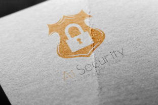 Ai Security: a Security Logo Template Graphic By denestudios