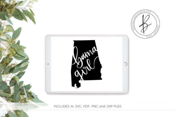 Print on Demand: Alabama Girl Graphic Crafts By BeckMcCormick