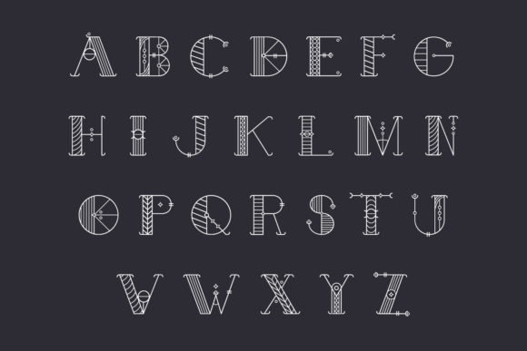 Print on Demand: Alchimique Display Font By Craft-N-Cuts - Image 3
