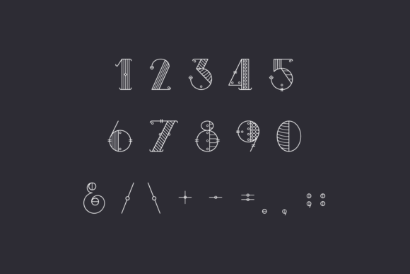 Print on Demand: Alchimique Display Font By Craft-N-Cuts - Image 4