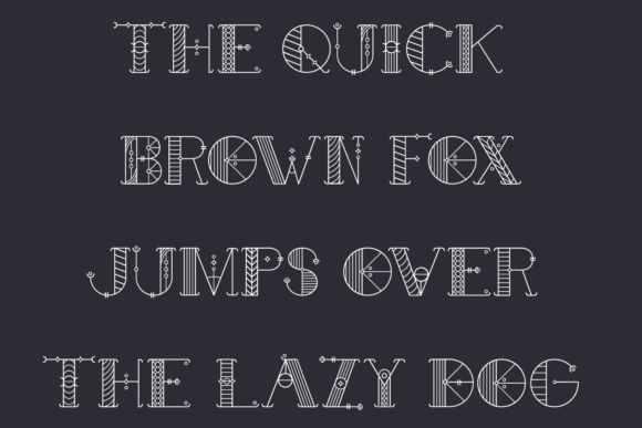 Print on Demand: Alchimique Display Font By Craft-N-Cuts - Image 2