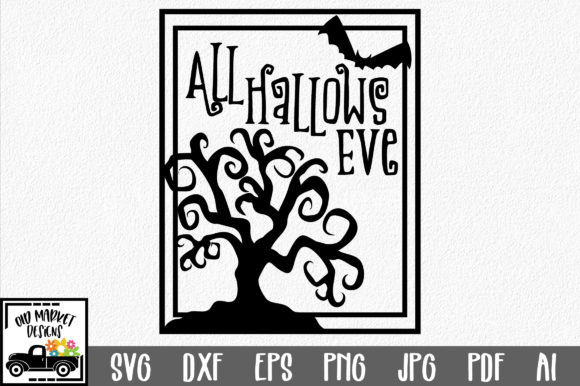 All Hallows Eve Graphic Crafts By oldmarketdesigns