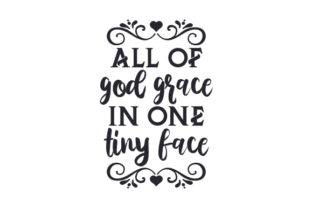 All of God Grace in One Tiny Face Craft Design By Creative Fabrica Crafts
