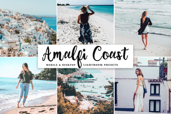 Print on Demand: Amalfi Coast Pro Lightroom Presets Graphic Actions & Presets By Creative Tacos