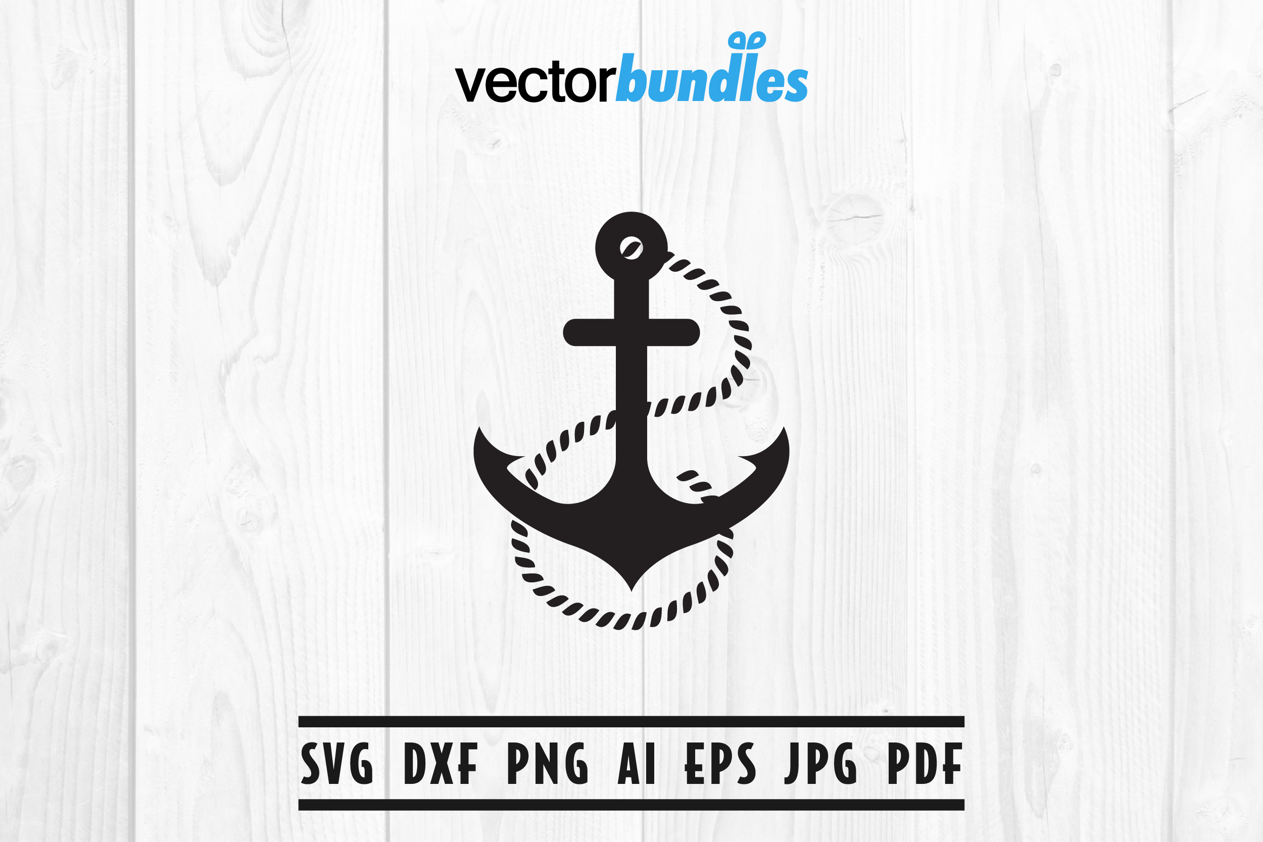 Download Free Anchor Clip Art Svg Graphic By Vectorbundles Creative Fabrica for Cricut Explore, Silhouette and other cutting machines.