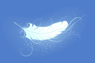 Angel Feather Graphic By Blackmoon9