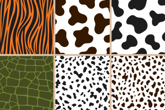 Animal Print Seamless Patterns Graphic Patterns By abstractocreate - Image 5