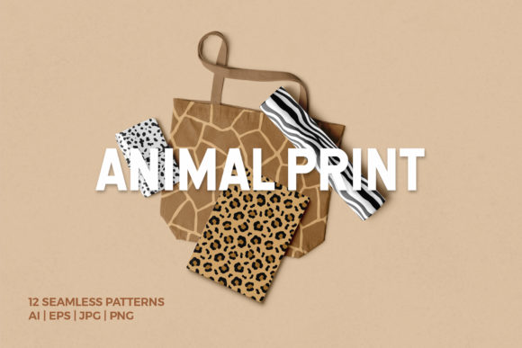 Animal Print Seamless Patterns Graphic Patterns By abstractocreate