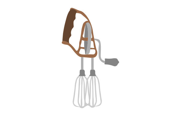 Antique Egg Beater Svg Cut File By Creative Fabrica Crafts