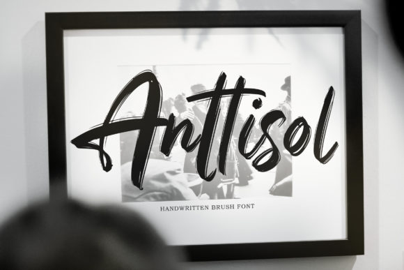 Anttisol Font By Weape Design Image 1
