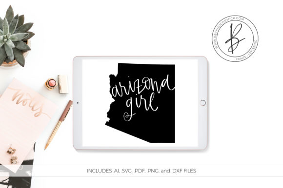 Print on Demand: Arizona Girl Graphic Crafts By BeckMcCormick