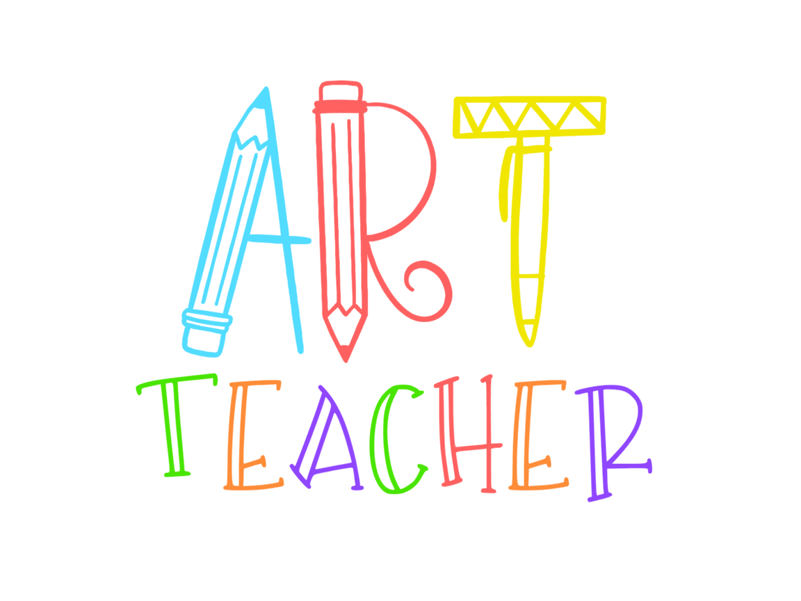 Download Free Art Teacher Graphic By Thesmallhouseshop Creative Fabrica for Cricut Explore, Silhouette and other cutting machines.