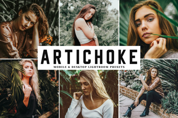 Print on Demand: Artichoke Lightroom Presets Pack Graphic Actions & Presets By Creative Tacos