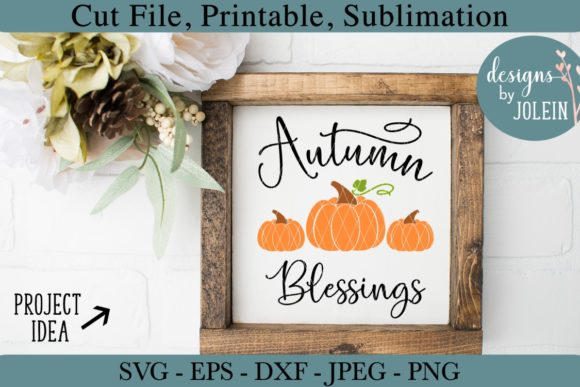 Autumn Blessings Graphic By Designs By Jolein Creative Fabrica