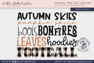 Autumn Pumpkin Spice Football Graphic By Southern Belle Graphics